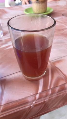 Welcome ginger tea in Khajuraho