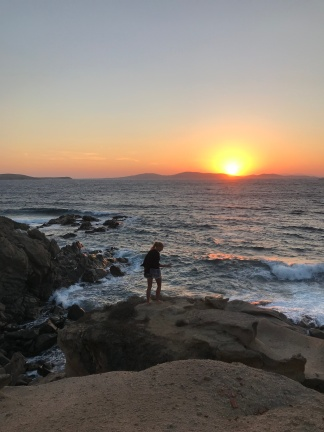 Another beautiful sunset spot: Agios Ioannis