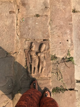 Siva temple stairs