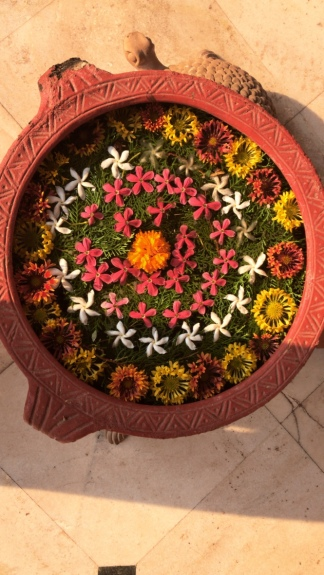 Khajuraho - ashram distance is 30-45 mins.