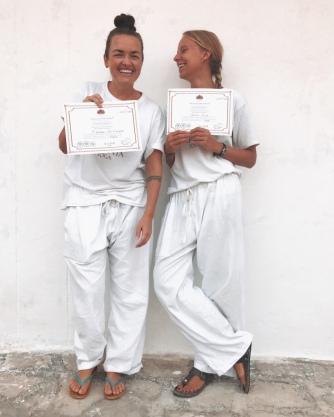 Roomates are now yoga teachers :-)